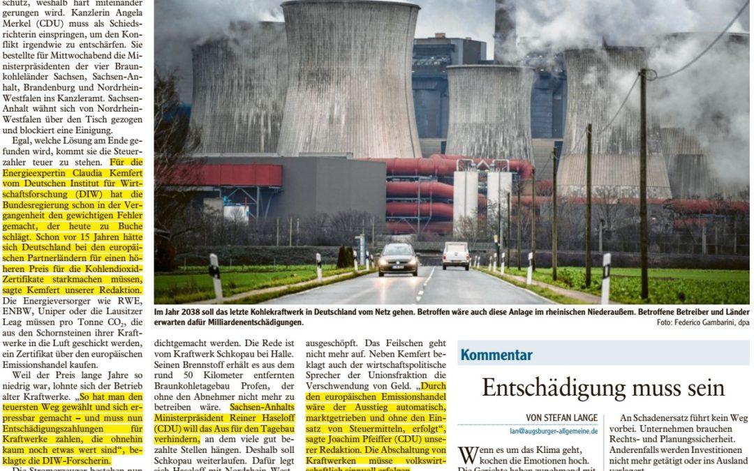 Geldverschwendung vor dem Kohleausstieg