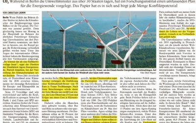 Klimaschutz als Sprengstoff für die Koalition