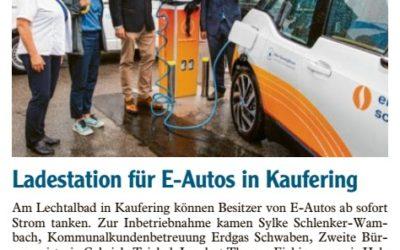 Ladestation für E-Autos in Kaufering