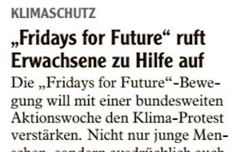 """""""Fridays for Future"""" ruft Erwachsene zu Hilfe auf"""