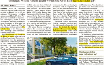 Die Stadt will mehr Elektroautos