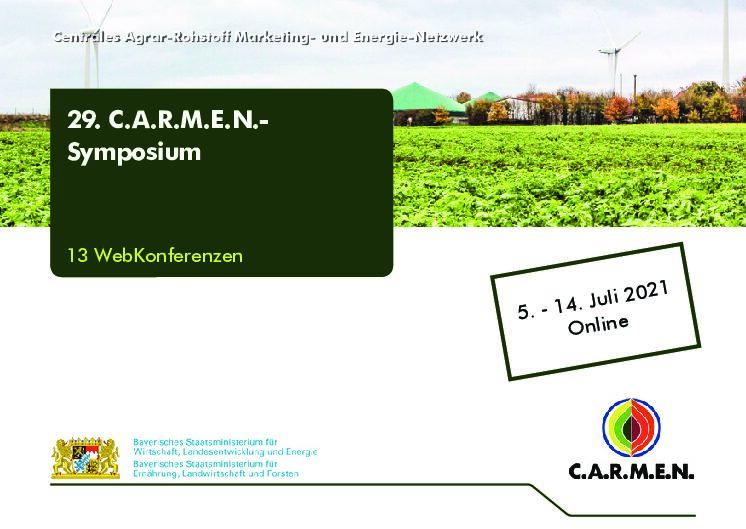 29. C.A.R.M.E.N Symposium